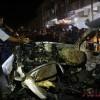 가자지구, 이스라엘 공습으로 차량 파손