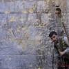 """자유시리아군 """"뒷거울로 살피는 적의 동향"""""""