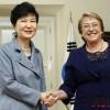 한국 박근혜·칠레 바첼렛 두 여성대통령의 공통점 vs 차이점