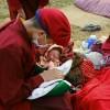 """[포토슬라이드] 네팔 지진참사 한달, """"오, 하느님···."""""""