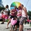 싱가포르 동성애 권리옹호 '핑크도트' 행사에 3만 인파···남성간 성관계 금지 형법개정 요구