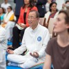 제1회 세계요가의 날, 반기문 유엔사무총장 코멘트는?