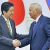 """중앙아순방 마친 아베, 중국·러시아 '텃새'에 고전···현지언론 """"일본은 엉터리"""" 혹평도"""