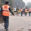 [포토슬라이드] 인도 뉴델리서 국경수비대 항공기 추락, 10명 전원 사망