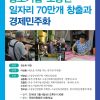 전순옥 의원 '소공인 일자리 70만개 창출과 경제민주화' 토론회