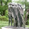[최명숙의 시와 사진] 신문로 성곡미술관 조각공원 청동조각상