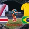 [러시아월드컵 전망] 16강 탈락위기 코스타리카, 브라질 꺾고 '이변' 일으킬까?