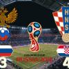 [러시아월드컵 8강 리뷰] 개최국 러시아, 크로아티아에 졌지만 멋진 플레이에 전세계 '환호'