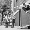 [패션] 실용성에 위트 더한 '폴라'···스웨덴 프로 스케이트 보더 알브 창설