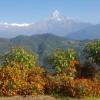 [네팔통신] 포카라도, 안나푸르나도 가을은 깊어만 가고