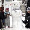 이란, 3월에도 펑펑 눈이 옵니다