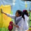파키스탄 거리를 밝히는 아이들