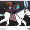 작년 유엔서 미술전 연 '데니스한'의 달력
