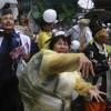 마잉주 대만 총통, 반대 시위 속 집권 2기 시작