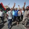 리비아 유권자들의 '투표 인증'