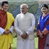 [단독] 모디 인도 총리, 부탄에 7200억원 경협 발표···수력발전 건설·중국과 분쟁 완화 등 '다목적'