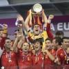 경제위기 스페인, 축구로 하나된 날