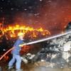 파키스탄 시장 화재, 5명 부상