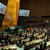 <김정일 사망> 유엔, 김정일 추모 묵념···상당수 퇴장