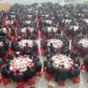 중국 동지(冬至), 400여 노인 단체 식사