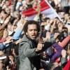 군부 퇴진 요구 시위 벌이는 이집트 시위대
