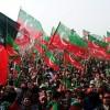 파키스탄 10만 인파, 임란 칸 지지 집회