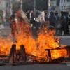 방글라데시 기자들, 동료 교통사고 항의 시위