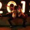새해 축하하는 인도네시아 젊은이들