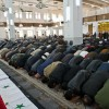 시리아, 폭탄 테러 희생자 합동 영결식