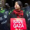 '나눔문화' 등 평화단체, 이스라엘 가자지구 폭격 항의 시위