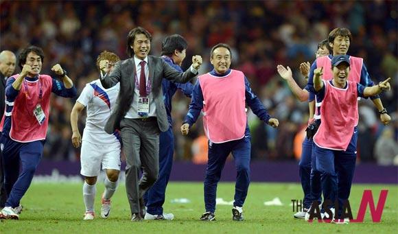 한국 올림픽 축구, 4강에 이르기까지