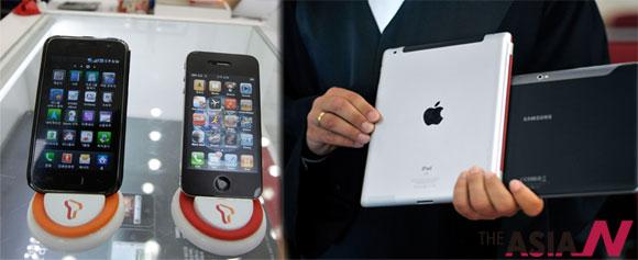 """모방은 안된다고? """"애플은 삼성한테 한 입 베어 물릴 것"""""""