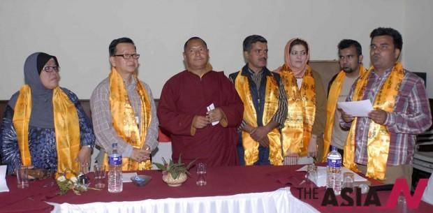지난 3월 룸비니서 열린 '미디어와 평화' 국제회의