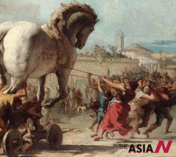 The _Procession_of_the_Trojan_Horse_into_Troy, painting
