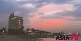 쿠웨이트 정유단지와 슈와이크항