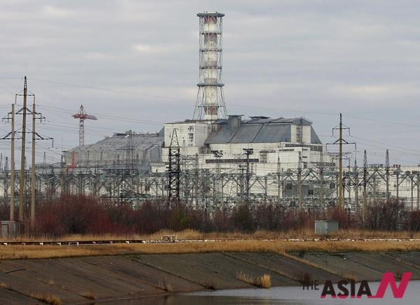 사상 최악의 원자력 발전소 사고가 발생했던 우크라이나 체르노빌 원전의 8일(현지시간) 현재 모습. 우크라이나 정부는 지난 2000년 12월 체르노빌 원전을 영구 폐쇄했다.