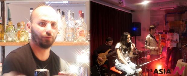 아르메니아 예레반에서 바텐더로 일하고 있는 레바논 출신의 제이콥과 그의 재즈바에서 열리고 있는 콘서트
