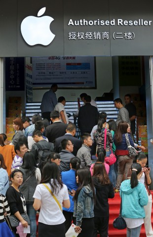 #CHINA-APPLE-NEW IPHONES-RELEASE (CN*)