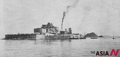 1930년대 하시마 섬