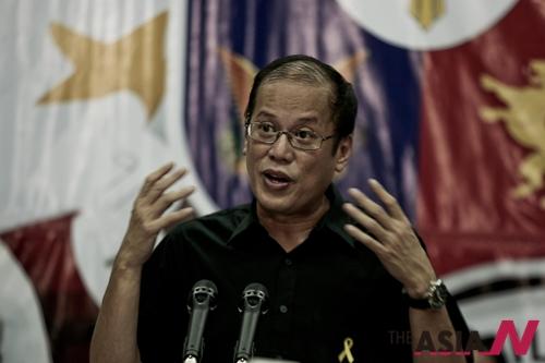PHILIPPINES-MANILA-QUINO III-CABINET-NEWS CONFERENCE