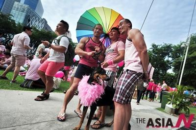 싱가포르 '핑크도트' 페스티벌