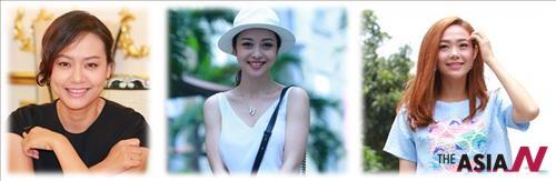 왼쪽부터 홍 아잉, 제니퍼 팜, 민 항
