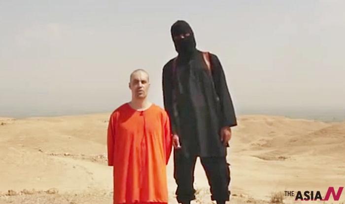 지난해 8월 미국 기자 제임스 폴리가 참수당하는 사건