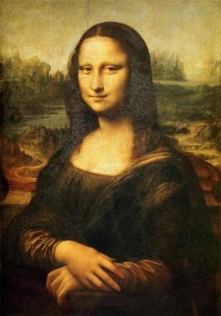 다 빈치(Da Vinci), 모나리자 또는 라 지오콘다(Mona Lisa or La Gioconda), 1503~1505, 루브르 박물관(Louvre, Paris, France)