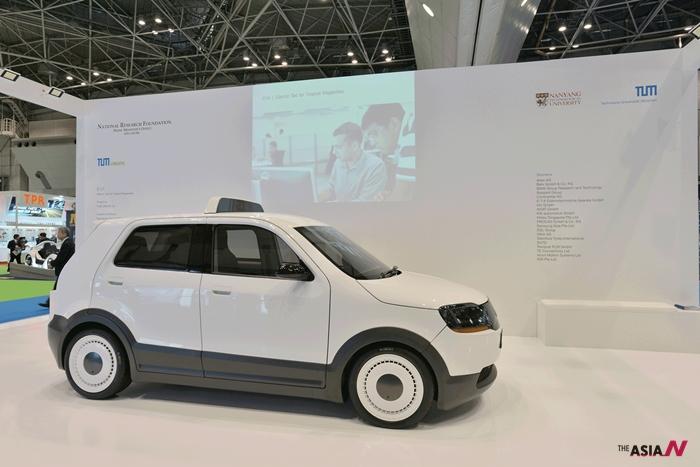 지난 2013년 도쿄 모터쇼에 소개된 TUM Create가 개발한 전기차 EVA
