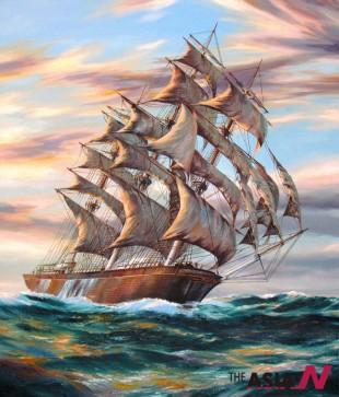 Cutty Sark Sailing