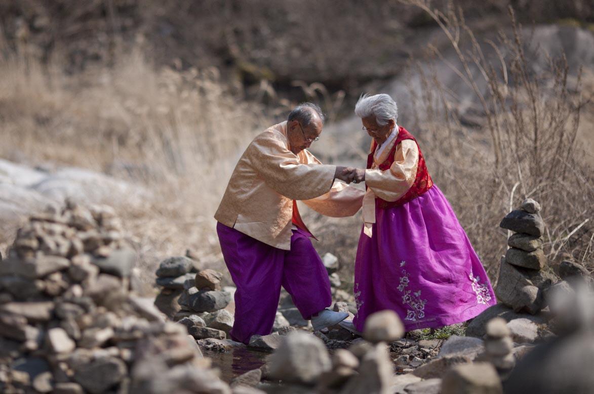 영화 '님아, 그 강을 건너지 마오'의 한 장면
