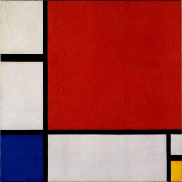 구성(Composition II in Red, Blue, and Yellow, 1930), 피에트 몬드리안 作