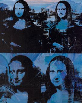 네 명의 모나리자(Four Mona Lisa, 1953), 앤디 워홀 作