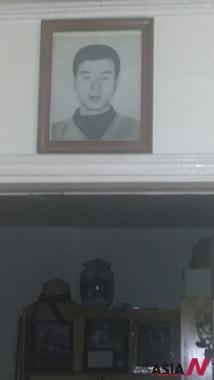 전순옥 의원 집에 걸려 있는 전태일 열사 사진